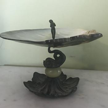Art Nouveau tiered dish - Art Nouveau