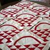 Turkey Red Basket Quilt Blocks,set of 20 Blocks,Handstitched