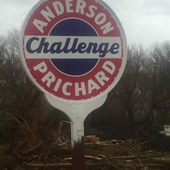 Anderson-Prichard Gas Sign - Signs