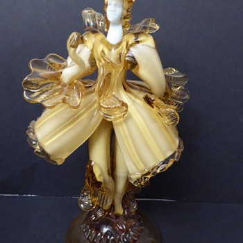 Murano Glass Figurine - signed G Toffolo - Art Glass