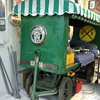 Antique Railroad baggage cart