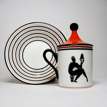 "GIO PONTI  FOR RICHARD GINORI -ITALY ""REISSUED"" - China and Dinnerware"