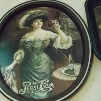 Pepsi cola tip tray - Advertising