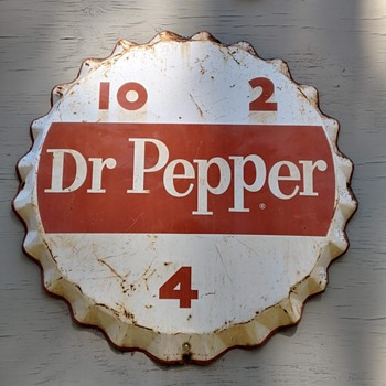 My Dr Pepper mystery sign - Signs