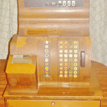 1940's National Cash Register - Coin Operated