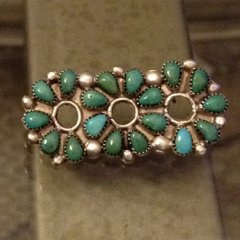 My favorite mysterious brooch from the southwest  - Native American