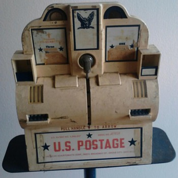 Vintage Postage Machine