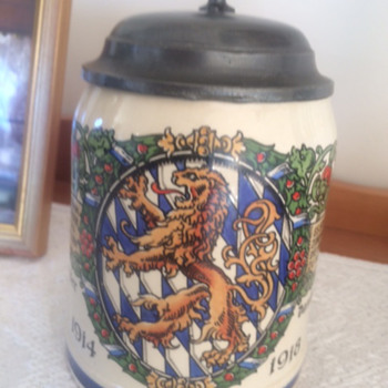 German Military Beer Stein Mettlach ? any info? - Military and Wartime