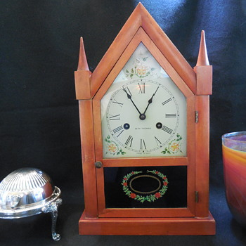 Seth Thomas 8 Day Steeple Clock Don't Let Time Pass You By! :^) - Clocks