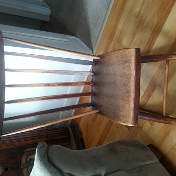 Hand made Maritime sewing rocker (I think)