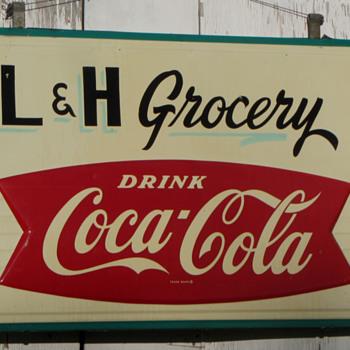 Coca Cola Store Sign 58x38  - Coca-Cola