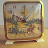 The Westener Ingraham windup clock 1950's