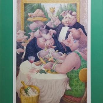 """Piggies"" print - 1986"