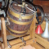 1/2 scale model Star Barrel Butter churn and Sipp Steam Engine