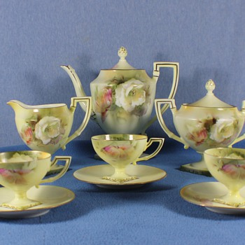 RS Prussia tea sets - China and Dinnerware
