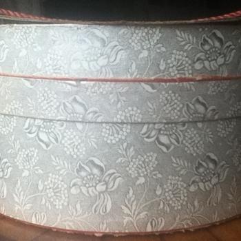Vintage Hat Boxes - Hats