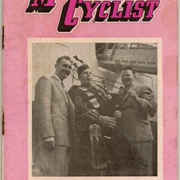 1955 - N.Z. Motor Cyclist Magazine - Paper