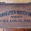 1876 - 1976 Anheuser - Busch Inc. Centenial Wooden Case