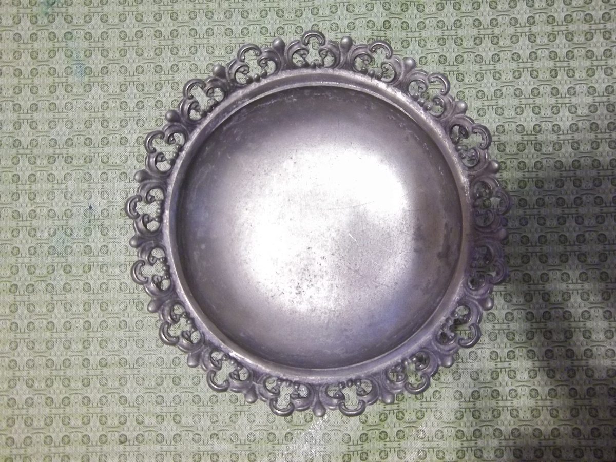 Set Of 5 Ancient Pewter Bowls  Etain Bowls  Tastevin
