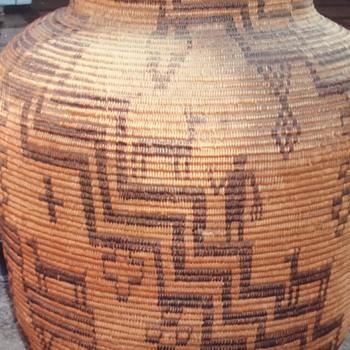 Apache Basket - Native American