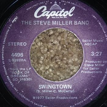 The Steve Miller Band...On 45 RPM Vinyl - Records