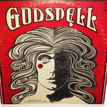 Soundtrack Week....#1...'Godspell'...On 33 1/3 RPM Vinyl - Records