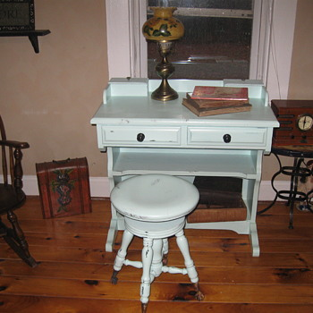 Old Piano Stool - Furniture