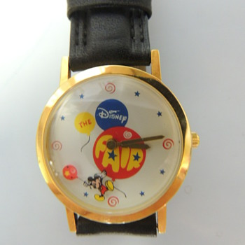 THE DISNEY FAIR WRISTWATCH