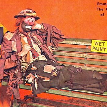 Emmet Kelly Jr. postcard - Postcards