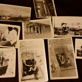Photos from the king Tut expedition and Palmyra 1920s - Photographs