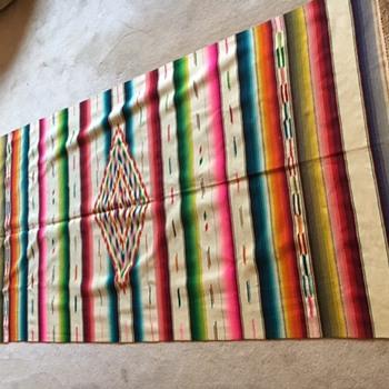 Mexican (Zapotec?) antique rug