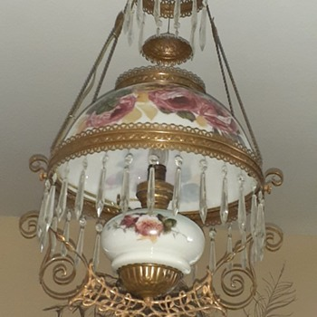 The second hanging oil lamp - Lamps