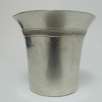 Just Andersen Tea Cup? Pewter 1928 - Kitchen