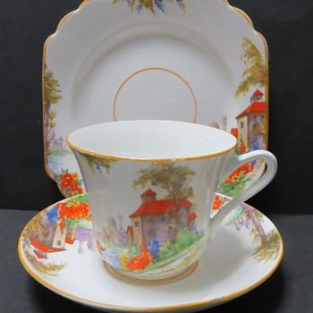 Victoria C&E Cartwright & Edwards Trio - Venice Pattern - China and Dinnerware