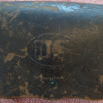 US 1864 cartridge box - Military and Wartime