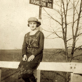 Mid 1920s...Young Woman's Photo - Photographs