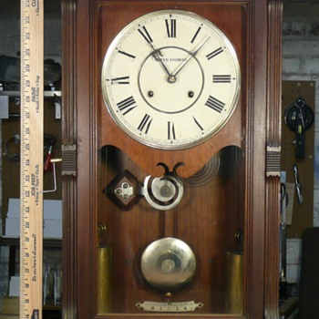 Seth Thomas Garfield Wood Cased Clock - Clocks