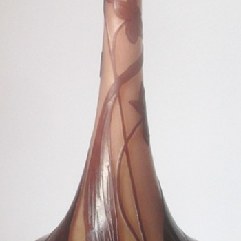 LOETZ CAMEO III-8123: 3 SIZES, 3 MARKS. - Art Glass