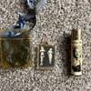 Marilyn Monroe lighter and necklace