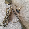 old TRIMM FEATHERWEIGHT handheld earphone