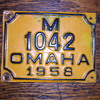 Help? Omaha 1958 license plate