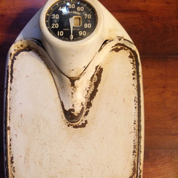 Health-o-meter antique scale to weigh yourself on - Tools and Hardware