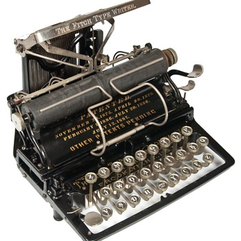 Fitch 1 typewriter - 1888 - Office