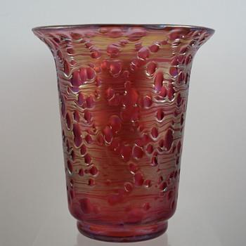 "Loetz ""Diaspora Neu"" Vase, ca. 1925 - Art Glass"