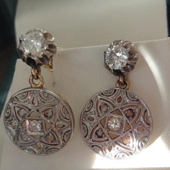 My favorite Art Deco earrings