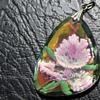 FLOWER UNDER GLASS PENDANT