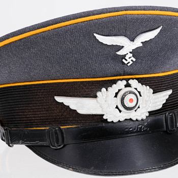 Luftwaffe EM/NCO visor cap - Military and Wartime