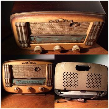 Poste musique, radio , prince, plaque Cafe paris - Radios