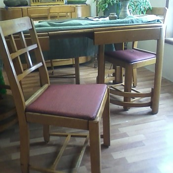 Mom's dining set - Furniture