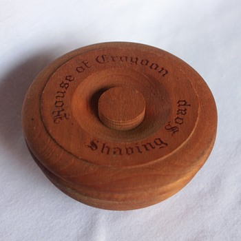 House of Croydon Shaving Soap Wooden Bowl